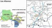 Map of Surroundings of Los Alamos