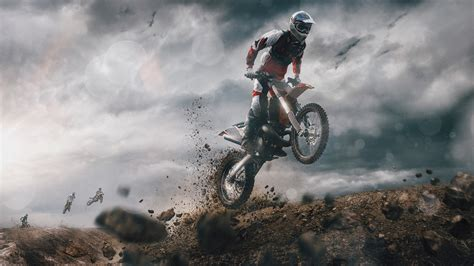 wallpaper motocross  road racing hd  sports