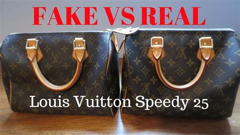 fake  real louis vuitton monogram speedy  handbag