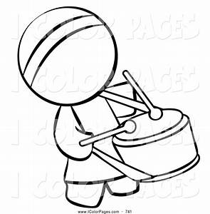 Marching Band Drummer Clipart (20+)