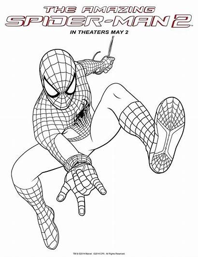 Spider Coloring Amazing Pages Spiderman Printable Homecoming