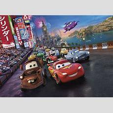 Wall Mural Photo Wallpaper Cars 2 Disney For Kids Nursery