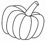 Coloring Pumpkin Pumpkins Printable Clip Leaves sketch template