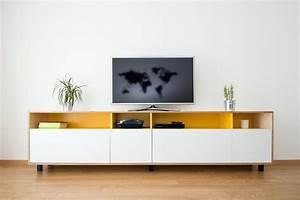 Meuble Tv Living : nos meubles de salon living meuble tv sur mesure ~ Teatrodelosmanantiales.com Idées de Décoration