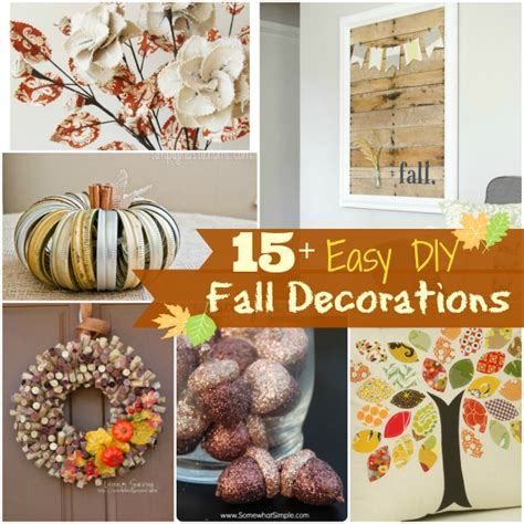 15+ Diy Fall Decorations  Brittany Estes