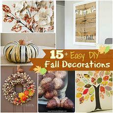 15+ Diy Fall Decorations  Brittany Estes