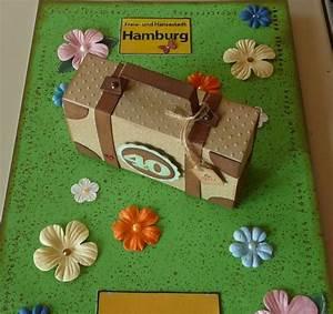 Geldgeschenke Geburtstag 40 : stamping funny geldgeschenk zum 40 geburtstag f r einen hamburg trip ~ Frokenaadalensverden.com Haus und Dekorationen