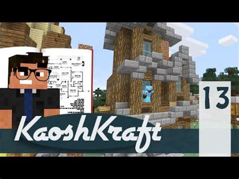 """let's Build Conman's Hoose"" Minecraft Kaoshkraft Smp"