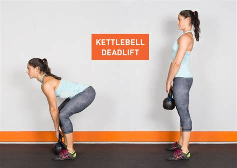 kettlebell exercises deadlift kettle exercise bell ass workouts fitness workout body kick deadlifts clean weights greatist press butt training legs