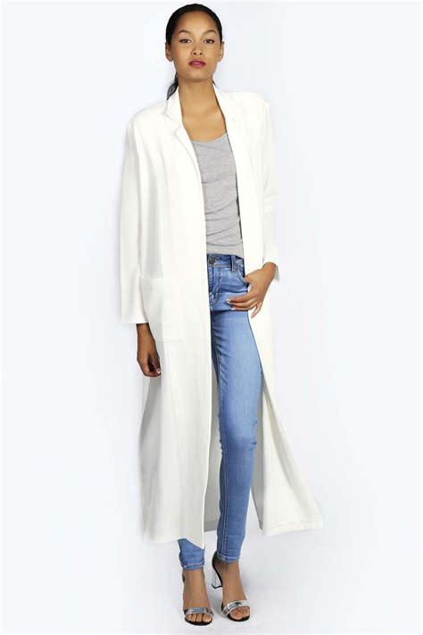 slit side cardigan boohoo womens sleeve length split side