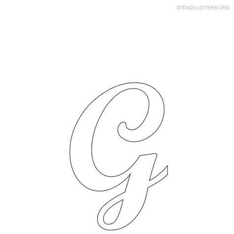 printable letter stencils  printable alphabet