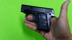 Fs Colt  25 Pocket Black Model Gun