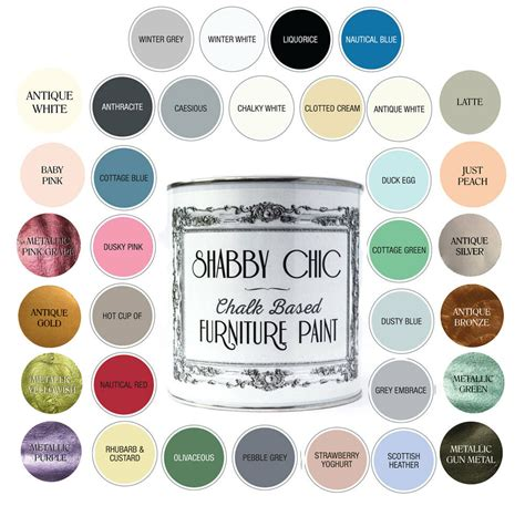 shabby chic paint colors shabby chic furniture paint chalky matt finish water