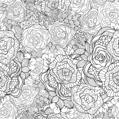 flowers advanced coloring pages  kidspressmagazinecom