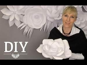 Youtube Deko Selber Machen : diy gro e papierbl ten wand aus kopierpapier selber machen deko kitchen youtube ~ Buech-reservation.com Haus und Dekorationen
