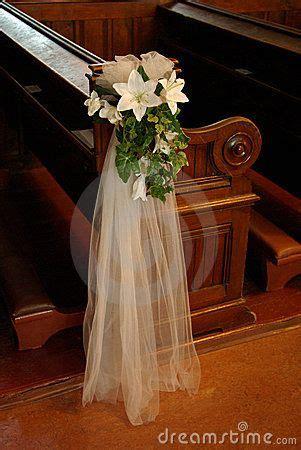 wedding church pew bows wedding pew bow with white