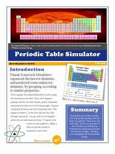 Periodic Table Simulator