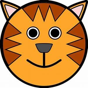 Tiger Face Clip Art At Vector Clip Art Online