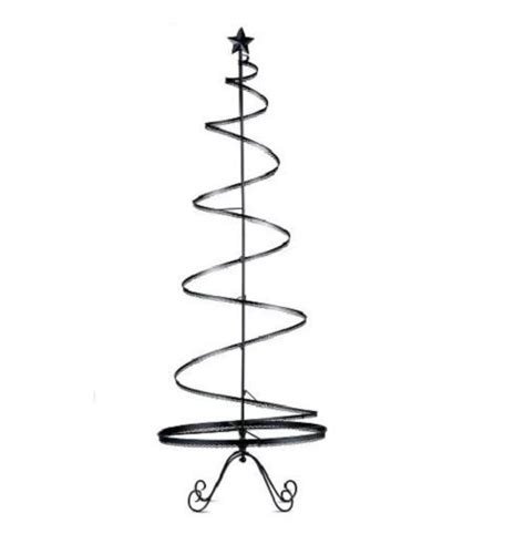 metal christmas tree ornament holders sale 89 quot metal ornament display tree indoor decor black ebay
