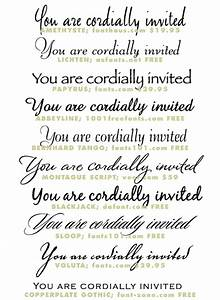 Wedding invitation typeface and font sources invitation for Wedding invitation formal font