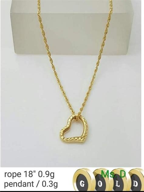 GOLD Philippines: GOLD price list - Necklaces, Rings