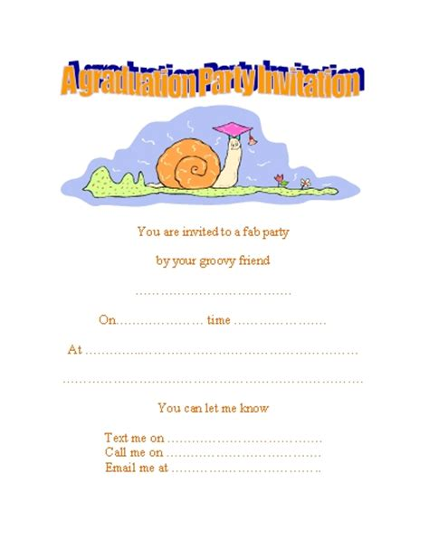 free printable preschool graduation invitations 11 best images of free printable kindergarten graduation 570