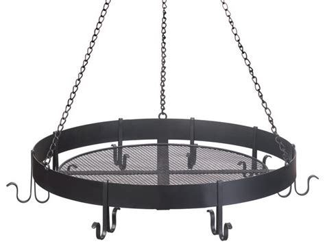 wrought iron pot rack wrought iron pot rack hanging with 8 hooks 1668