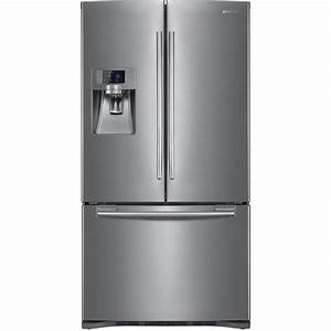 Shop Samsung 22 5-cu ft French Door Refrigerator with Dual