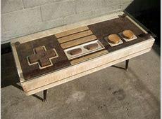 Functional Gamer Furniture nintendo controller coffee table