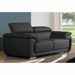 canape convertible 2 places cuir royal sofa idee de With canapé convertible 2 places simili cuir