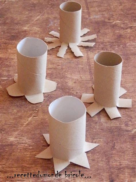 loisir creatif avec rouleau papier toilette peindre avec des tons en rouleaux de papier enfant b 233 b 233 loisir