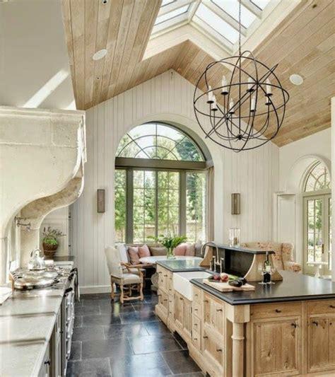 cuisine 駲uip馥 en bois d 233 licieux cuisine blanche et bois clair 2 de cuisine en