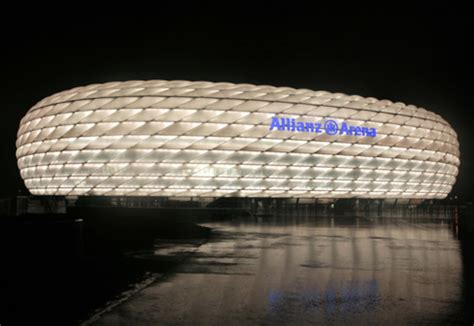 etfe film allianz arena  agc chemicals stylepark