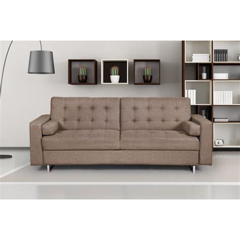 Linen Sofa by Jared Brown Linen Sofa S5152 The Home Depot