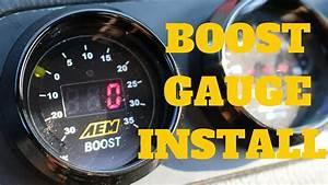 Boost Gauge Install