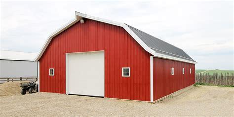 Post Frame Farm Barns Alberta