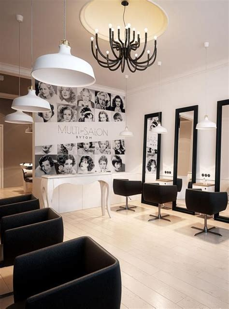 hairdresser interior design  bytom poland archi group salon fryzjerski hairdresser