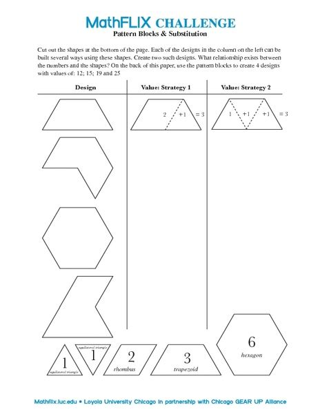 all worksheets 187 fractions with pattern blocks worksheets