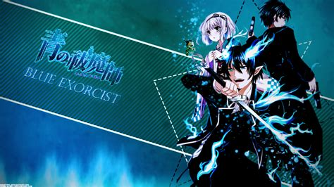 Blue Exorcist Wallpaper Hd Blue Exorcist Wallpaper Etrnlpanda Collab By Imladdi On Deviantart