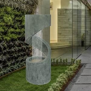 Fontaine Exterieur Zen : grossiste fontaine xl jardin originale circo zen 39 light ~ Nature-et-papiers.com Idées de Décoration