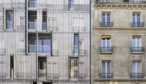 Architettura Mimetica L'edificio Di Rue Championnet Di