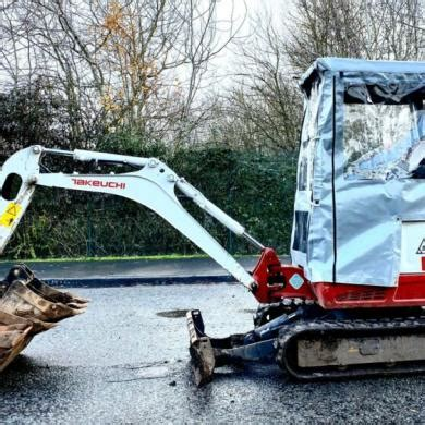 canopy cover  suit takeuchi tb mini excavator  weather digger covers  sale