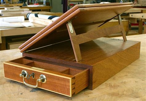 writing box campaign furniture plans woodworking desk