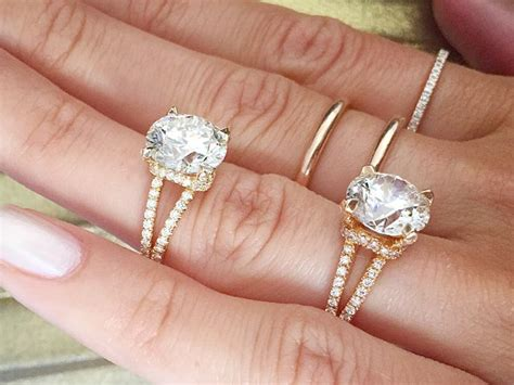 The Most Popular Engagementring Trends Of 2018  Whowhatwear. Homemade Rings. Wing Wedding Rings. Star Hollywood Engagement Rings. Oblong Rings. Raw Aquamarine Engagement Rings. Duct Tape Rings. Black Onyx Engagement Rings. Broken Engagement Rings