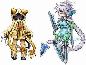 BLAZBLUE: Taokaka and V-13 by Poki-art on DeviantArt