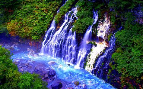 Mountain Falls Wide Desktop Background Hd Wallpapers ...