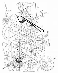 Husqvarna Lawn Mower Steering Diagram
