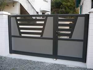 Portail De Garage Coulissant : portail coulissant ~ Edinachiropracticcenter.com Idées de Décoration