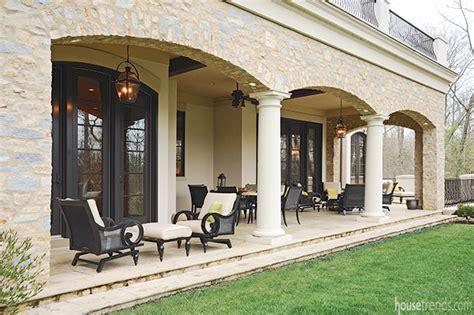 indian inspired veranda living
