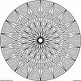 Coloring Adults Geometric Patterns Pattern Cool Abstract Flower Hard Adult Mandala Colouring Printable Circles Sheets Fascinating Teenagers Inspirational Malvorlagen Circle sketch template